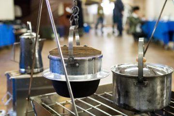 ユニフレーム「キャンプ羽釜 3合炊き」