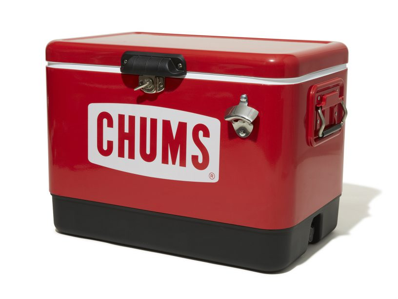 CHUMS「Steel Cooler Box 54L」