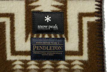 スノーピーク×ペンドルトン