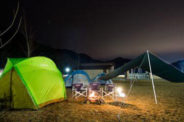 モンベル 五ケ山ベースキャンプ