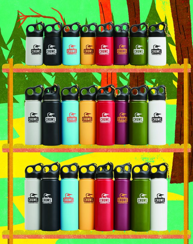 CHUMS「Camper Stainless Bottle」