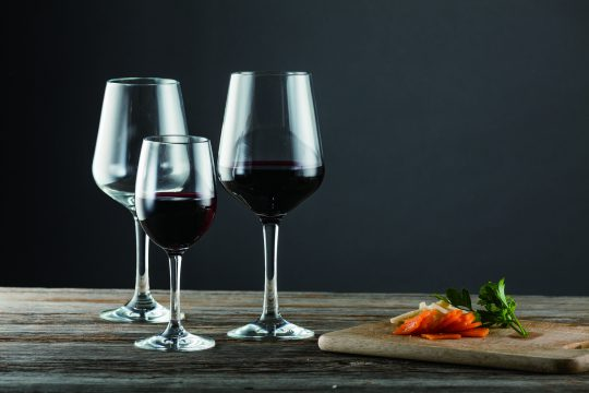 クリスタルポリカーボネイト ワイングラス
