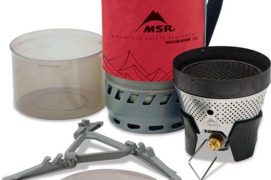 MSR「ウィンドバーナーパーソナルストーブシステム」