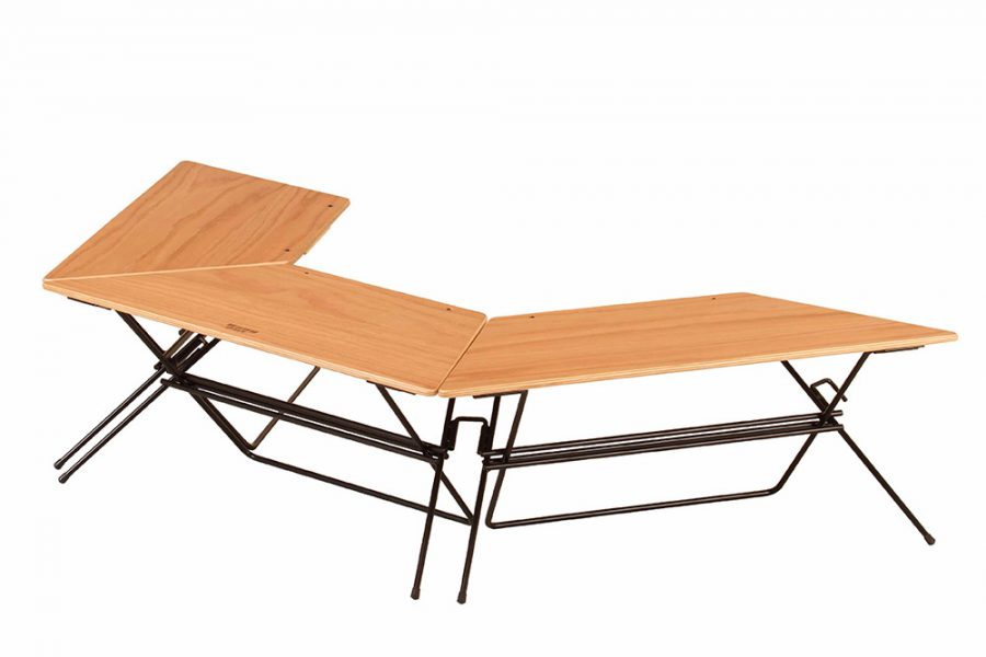 Hang Out「Arch Table(Wood Top)」