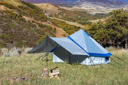 NoBox「Bell Tent Blue Trim」
