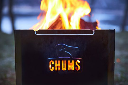 CHUMS「Booby Face Folding Fire Pit」