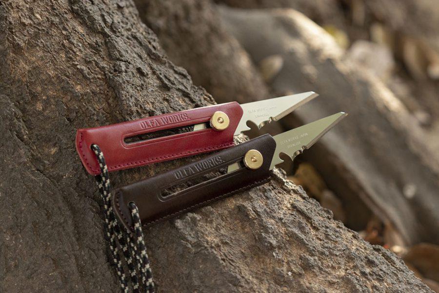替刃式ブッシュクラフトナイフ BK1 レザー