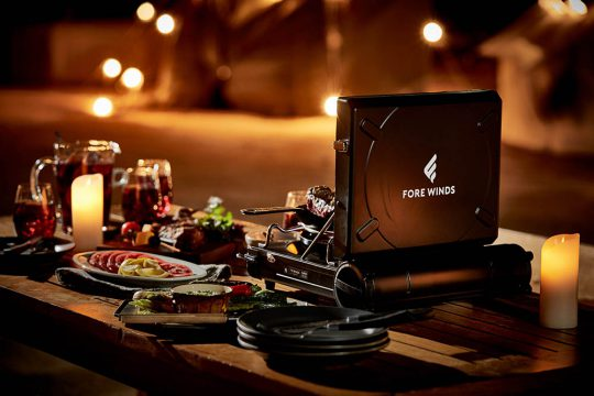 FORE WINDS「LUXE CAMP STOVE」